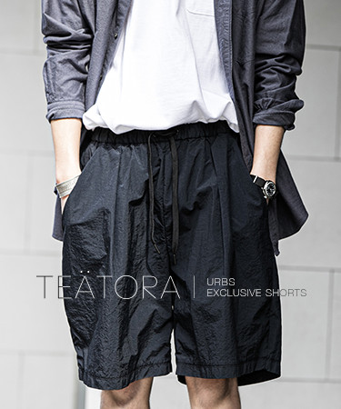 TEATORA x URBS EXCLUSIVE SHORTS