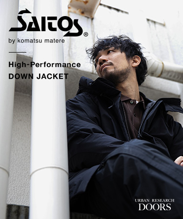 "SAITOS® by komatsu matere ""High-Performance DOWN JACKET"""