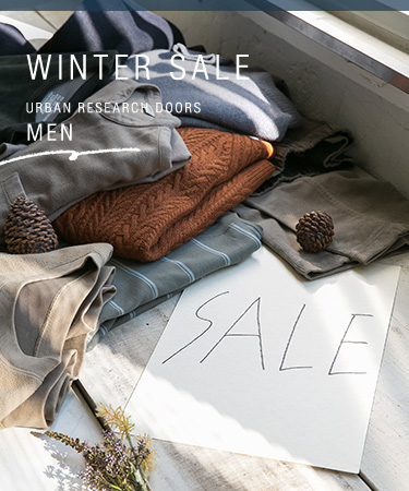 WINTER SALE URBAN RESEARCH DOORS-MEN|DOORS