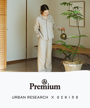 URBAN RESEARCH × UCHINO 2021 SS|URBAN RESEARCH