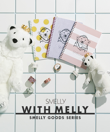 SMELLY WITH MELLY - SMELLY GOODS SERIES -