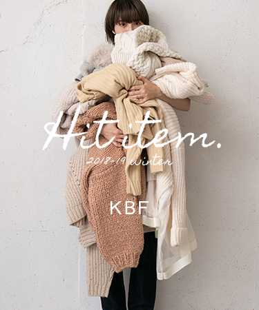 KBF Hit item. 2018-19 winter