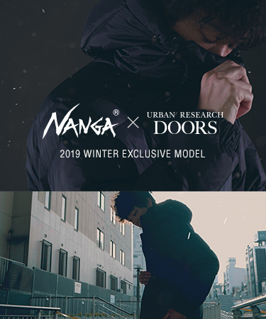 NANGA × DOORS 2019 WINTER EXCLUSIVE MODEL