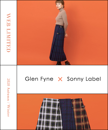 2020 Autumn/Winter WEB LIMITED  GLENFYNE × Sonny Label