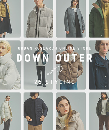 DOWN OUTER 25 STYLING - WOMEN -