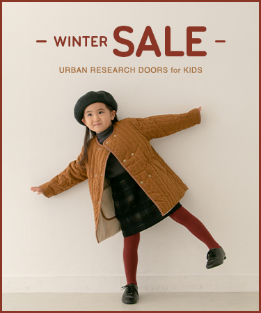 WINTER SALE URBAN RESEARCH DOORS for KIDS|DOORS