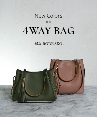 4WAY BAG New Colors