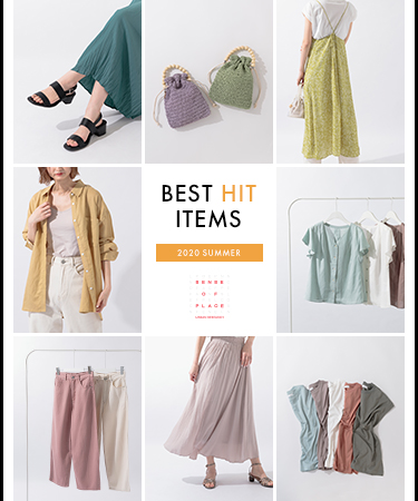 BEST HIT ITEMS  ― 2020 SUMMER ―