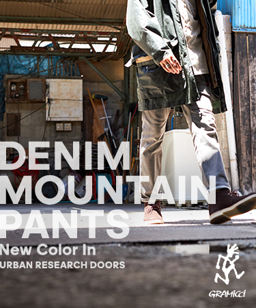 Gramicci DENIM MOUNTAIN PANTS ― New Color In ―