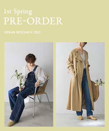 1st Spring PRE-ORDER URBAN RESEARCH 2021