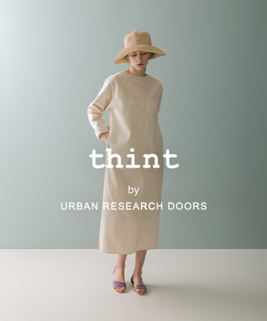 thint by URBAN RESEARCH DOORS 2021 SS|DOORS