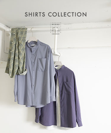 SHIRTS COLLECTION|SENSE OF PLACE