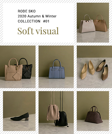 "RODE SKO 2020 Autumn & Winter COLLECTION #01 ""soft visual"""