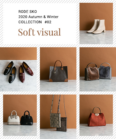 "RODE SKO 2020 Autumn & Winter COLLECTION #02 ""soft visual"""