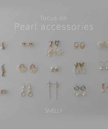SMELLY Focus on  pearl accessories