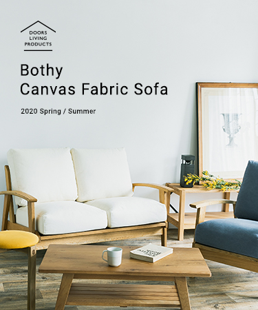 Bothy Canvas Fabric Sofa - Spring / Summer -