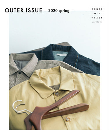 OUTER ISSUE ― 2020 SPRING ―