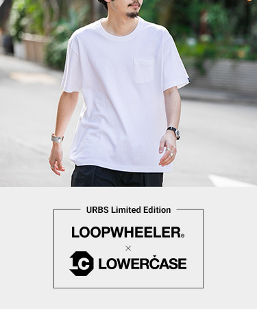 "夏の""LOOPWHEELER×LOWERCASE""が登場"