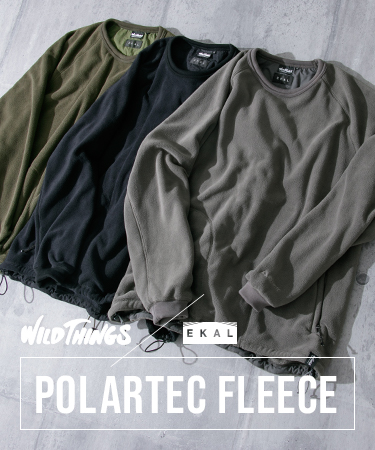 WILD THINGS × EKAL POLARTEC FLEECE
