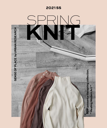 SPRING KNIT|SENSE OF PLACE