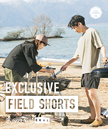 EXCLUSIVE FIELD SHORTS|TINY GARDEN