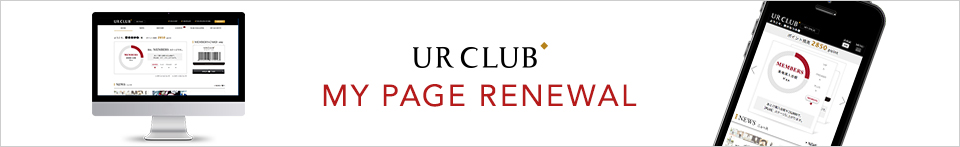 UR CLUB MY PAGE RENEWAL