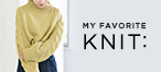 KBF MY FAVORITE KNIT