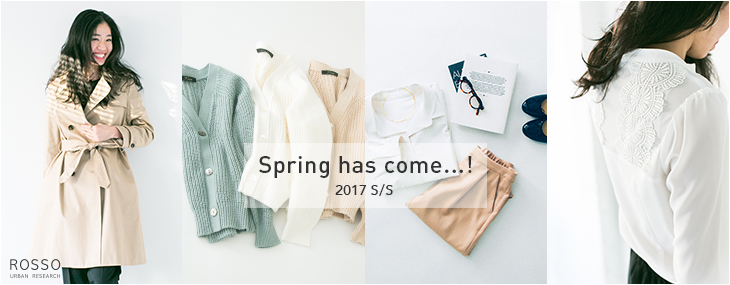 Spring has come...!